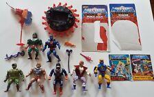 Masters del universo Lote de Trabajo Vintage Figuras Sueltas años 80 He-man Adam Zoar silbido