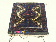 Vintage Afghan Baluchi Bag Face BagFace 25x30 inches, excellent condition