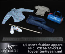 "Toy Center 1:6 scale Men's Fashion Apparel (Set A) CEN-M-01A F 12"" Figure Toys"