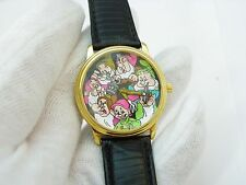 THE SEVEN DWARVES, Snow White, RARE!!!, DISNEY MEN'S WATCH,113, L@@K
