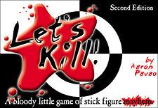 Let's Kill Bloody Little Card Game of Stick Figure Mayhem 2nd Ed. Atlas Games