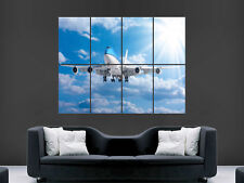 JUMBO JET 747 AEROPLANE BOEING LARGE PICTURE POSTER GIANT