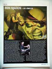 COUPURE DE PRESSE-CLIPPING :  IRON MAIDEN  01/2004 Live Report Bercy,Paris
