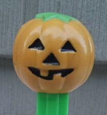 PEZ Halloween Pumpkin B Mustard Color Dispenser thin feet 3.9 Hungary