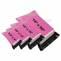 Strong Mailing Bags-PINK Color Postal Poly Mailer Postage Plastic Self seal Bags