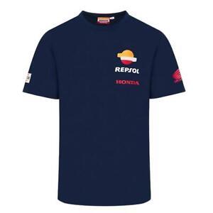 MotoGP Repsol Honda Mens T-Shirt   Navy   2021