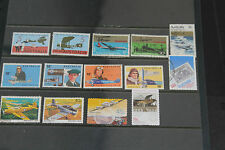 BULK LOT AUST PLANES THEMED STAMPS X 14 SETS & SINGLES F/U