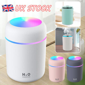 Electric Air Diffuser Aroma Oil Humidifier LED Night Light Up Defuser Home Relax