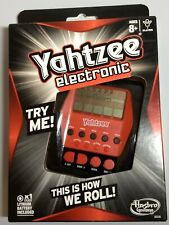 NEW Electronic Hand Held Yahtzee Updated (2012) Classic Game Hasbro A2125