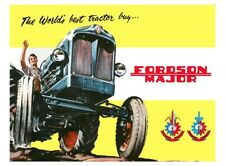 Fordson Major Tractor - Poster - (3 for 2 offer)