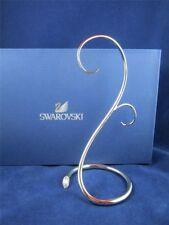 "Swarovski Christmas Double Ornament Display Stand, 7"" - Signed - 1076800  nib"