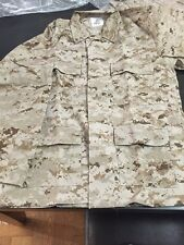 New USMC Marines Desert MARPAT Digital Camo Jacket, Size 40, 42 High Quality