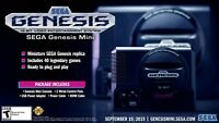 Sega Genesis Mini Console Includes 40 Preloaded Games Brand New