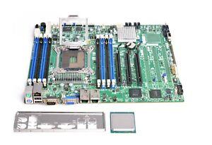 Supermicro X9SRi-F, LGA 2011/Sockel R, Intel Server Mainboard, *NEW BIOS* + CPU