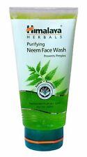 Himalaya Herbals Purifying Neem Face Wash Facewash 150ml (5 Oz) 2 Tubes of 150 Ml Each