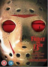 Friday The 13th Complete Series Box Set Parts 1-8 (2009) 8-Disc Corey Feldman UK