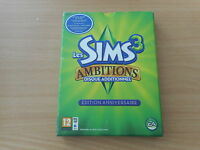PACK PC MAC DVD ROM LES SIMS 3 AMBITIONS DISQUE ADDITIONNEL EDITION ANNIVERSAIRE