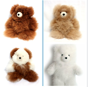 "WHOLESALE LOT OF 10 ADORABLE ALPACA TEDDY BEARS 13"" TALL VERY SOFT"