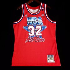 100% Authentic Magic Johnson Mitchell Ness 1991 91 All Star Jersey Size 44 L 14162e413