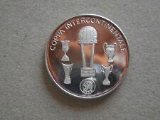 medaglia argento coppa intercontinentale Juventus calcio football 1985 tokyo