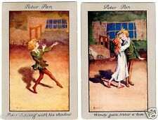 POSTCARDS (6) PETER PAN GROUP OF 6 SIGNED SYBIL BARHAM SERIES 1217 FAULKNER