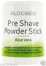 BLOC MEN© Pre Shave Powder Stick 60g Aloe Vera ( 100g = 14,92 Euro) Ww Shipment