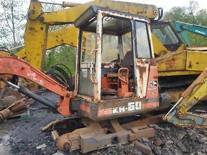 Kubota KH60 Mini Digger excavator dismantling for parts! Air filter housing!