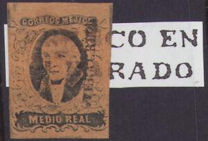 db16 Mexico #6 1/2R Veracruz / Alvarado Sz 1765 w/o date Est $40-60 VF Example
