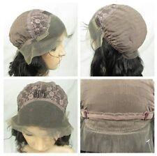 "100% Brazilian Remy Human Hair 12""-24"" Full/Front Lace Wigs long big body wave"