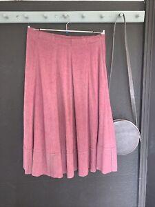 Lilith Pink A Line Skirt Medium