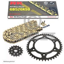 Kit de cadena KTM EXC 525 Carreras 03-07 RK GB 520XSO 118 Abierto Oro 15/45