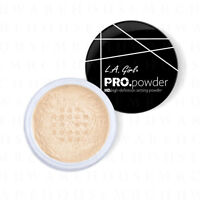 L.A. Girl Pro Powder HD Makeup Setting Powder Banana Yellow GPP920