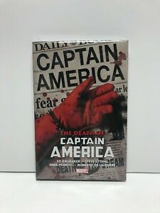 Death Of Captain America By Ed Brubaker Omnibus Epting Marvel Hardcover New