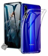 Housse etui coque silicone gel fine Huawei Honor 20 + verre trempe - TRANSPARENT