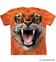 """""""Roaring Tiger Face"""" The Mountain Classic T-Shirt - Child and Adult"""