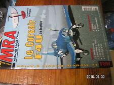 5µ?§ Revue MRA n°763 Plan encarté Le Morgan / Corsair F4U Le Van RV4 Sun Flyer
