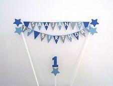 Personalised Cake Topper - Birthday Bunting