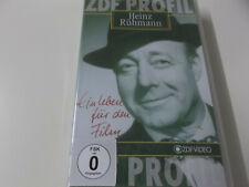 50246 - HEINZ RÜHMANN (EIN LEBEN FÜR DEN FILM) - ZDF VHS VIDEO - NEU!