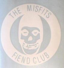 "MISFITS AUFKLEBER / STICKER # 40 ""FIEND CLUB"" RUB ON RUBBEL - WETTERFEST - 13cm"
