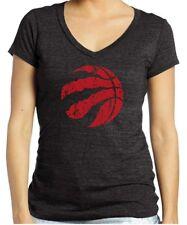 Majestic Athletic NBA Toronto Raptors Women's Premier Triblend T-Shirt XXL Black