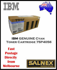 IBM GENUINE 75P4056 Cyan Laser Toner Cartridge  For InfoPrint Color 1354,1464