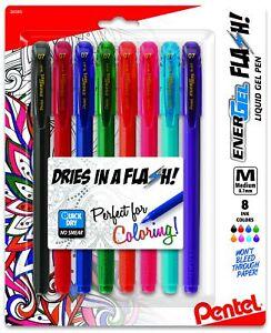 EnerGel flash Pens (bl417bp8m)