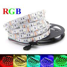 5050 5m RGB 300 led SMD Flexible Light Strip 12V Tape Car string ribbon lamp 12V