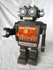 Horikawa Battery Operated Fighting Robot Rare Noseless 5024 Japan 80s Black 10