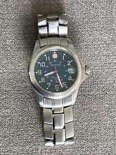 Wenger swiss military watch mens