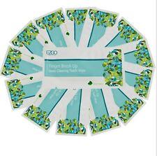 50 X Dedo Cepillo Ups pre y post Blanqueamiento Dental profunda limpieza toallitas cuidado dental