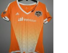 MLS Houston Dynamo Adidas Soccer Jersey New Womens LARGE