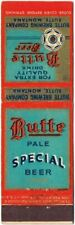 1930s Montana Butte Special Beer Matchcover TavernTrove
