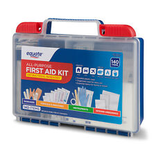 All-Purpose First Aid 140 Items Kit Compact Home Emergency Survival Medical Kit