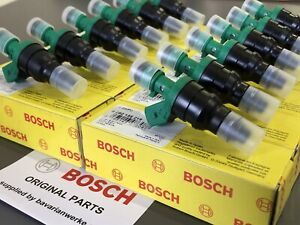 New and Genuine Bosch Fuel injectors For Mercedes-Benz S-Class W140 S600 SE/SEL